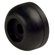 "Rubber End Cap, 3"" dia., 1/2"" hole"