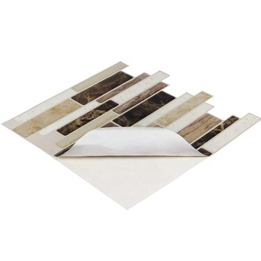 Peel and Stick Mosaics, Canyon- 5 Pack