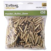 Top Brass Load-Ready Brass, 250 Rounds, .223 Rem