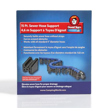 Flexible Sewer Hose Support, 20'