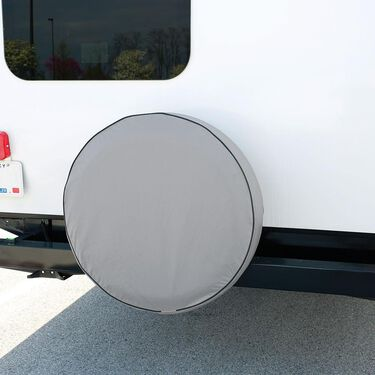 Elements Gray Spare Tire Cover, 27""