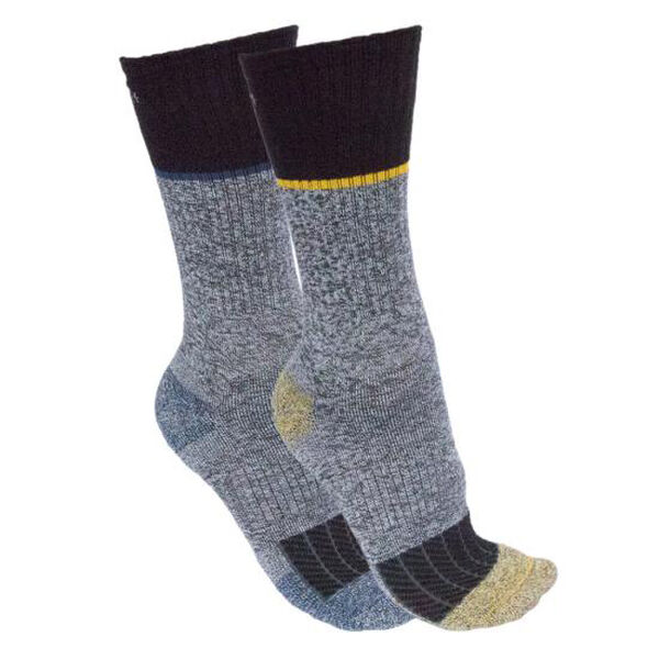 Carhartt Men's Force Performance Steel-Toe Crew Socks, 2 Pack