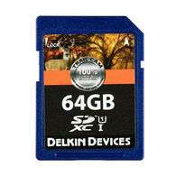 Delkin Devices Trail Cam SD Memory Card, 64GB, 1-Pack