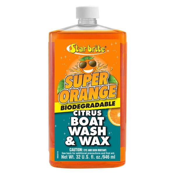 Star Brite Super Orange Boat Wash And Wax, 32 oz.