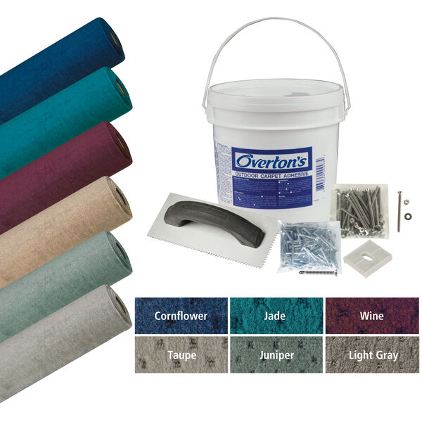 Overton's Blockade Carpet Kit, 8.5'W x 25'L