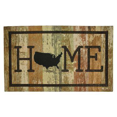 """Home USA Rubber Mat, 18"""" x 30"""""""