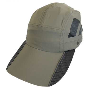 Dorfman Pacific Men's Umbra Fishing Cap with Foldaway Sun Shield