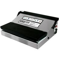 """Weston Pro-1100 11"""" Stainless Steel Vacuum Sealer with Bag Roll Holder + Cutter"""