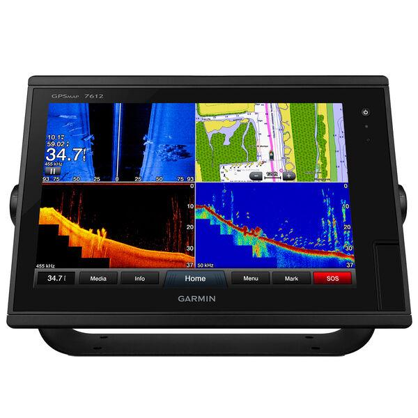 "Garmin GPSMAP 7612 12"" Touchscreen Chartplotter With J1939 Port"