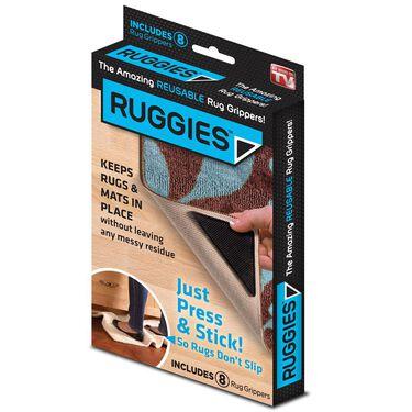 Ruggies Rug Grippers, 8-Pack