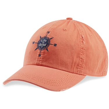 Life Is Good Sunwashed Compass Chill Cap