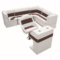 "Toonmate Deluxe Pontoon Furniture w/Toe Kick Base - Rear Big ""L"" Package"