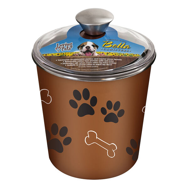 Loving Pets Bella Dog Treat Canister