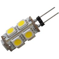 12 volt LED Bulb, G6/JC20 Replacement