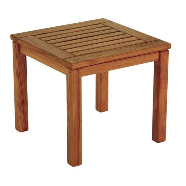 Whitecap Teak Square Side Table