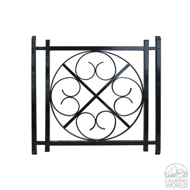 Screen Door Grille, Black