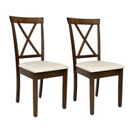 Allure Fixed Dinette Chairs, pair
