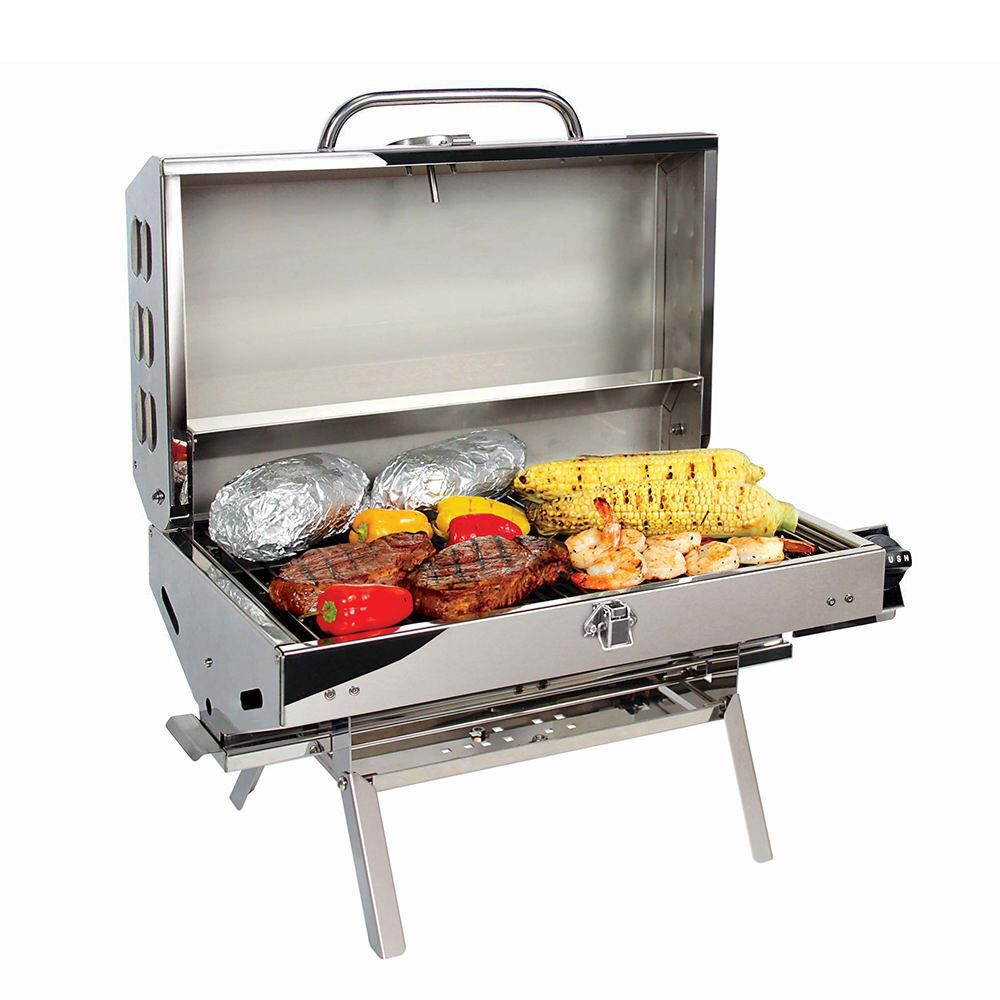 Camco Olympian Rv 5500 Stainless Steel Mountable Grill Camping World