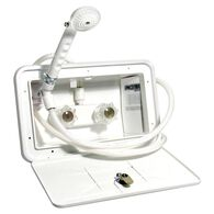 Exterior Shower Kit, White