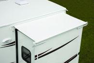 "Replacement Fabric Dometic Elite EZ Slidetopper, Polar White, 66"""