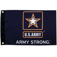 """Military Flag Army Strong, 12"""" x 18"""""""