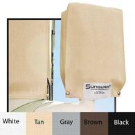 "Sunguard 24"" Mirror-Savers, 2-Pack, White"