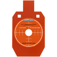 "Champion Targets Center Mass 3/8"" 33% IPSC Silhouette AR500 Steel Target"