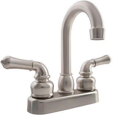 Dura Faucet Classical RV Bar Faucet, Brushed Satin Nickel