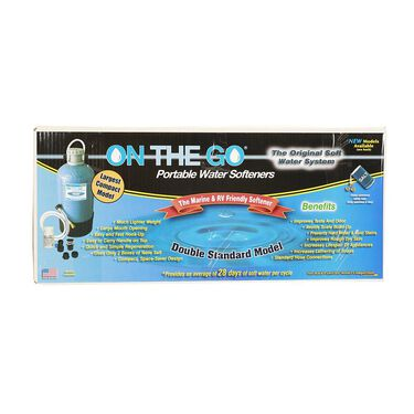 On The Go Portable Double Standard Water Softener & Conditioner