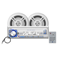"Dual MCP103 USB/MP3/WMA Media Receiver With Two 6.5"" Speakers"