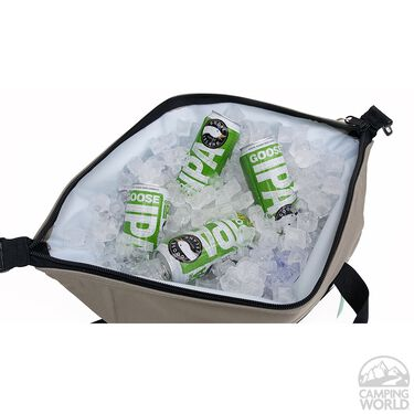 Polar Bear 24 Pack Cooler, Silver