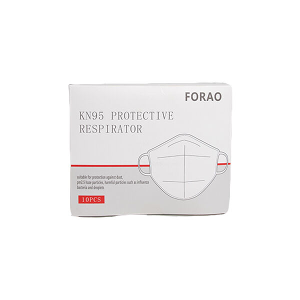 KN95 Protective Respirator Face Masks, 10-pack