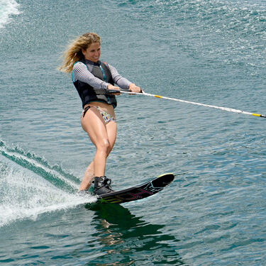 HO Women's Freeride Slalom Waterski With Double Free-Max Bindings