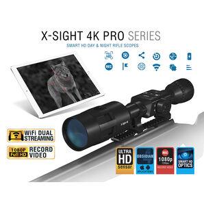 ATN X-Sight 4K Pro Day/Night 3-14x Riflescope
