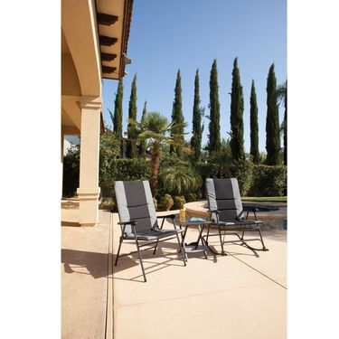Summit Padded Folding Outdoor Chair