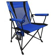 Dual Lock Hard Arm Chair, Blue