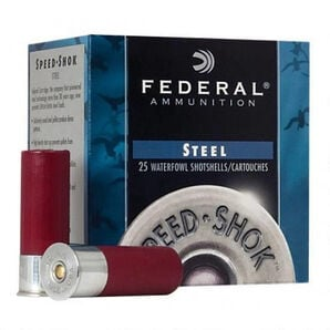 Federal Premium Speed-Shok Steel Waterfowl Loads, 20-ga., 3/4-oz., #4