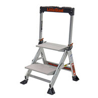 2' Jumbo Step Aluminum Ladder