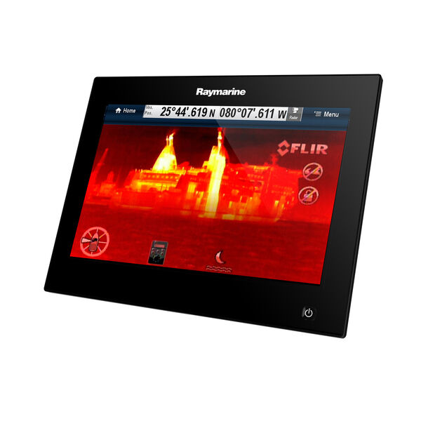 "Raymarine gS95 9"" Glass Bridge MFD With Inverted Display"