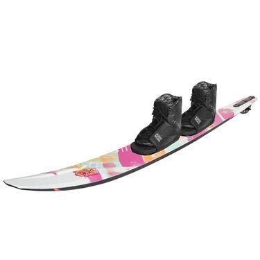 HO Women's CX Slalom Waterski With Double Free-Max Bindings