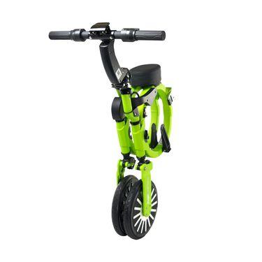 Jupiter Smart Folding Electric Bicycle, Titan Green