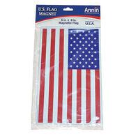 "US Flag Magnet, 5"" x 8"""