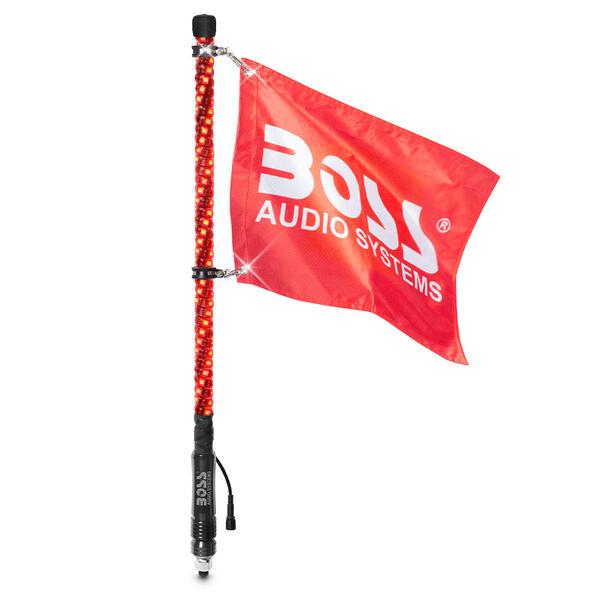 """Boss Audio WP2 24"""" RGB LED Wrapped Whip"""