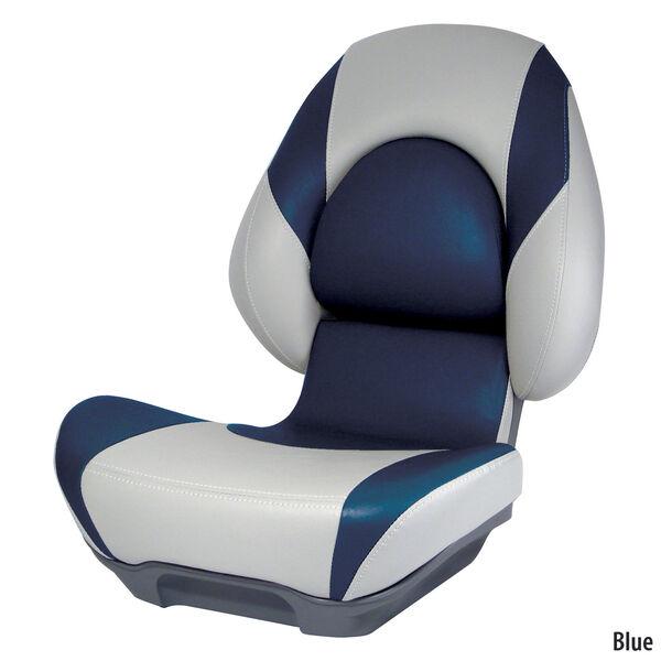 Attwood SAS Centric II Folding Boat Seat, Gray Base