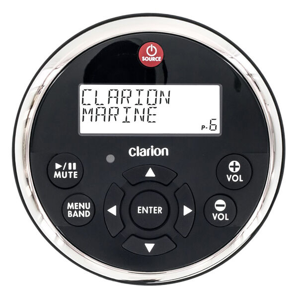 Clarion MW1 Watertight Wired Remote With 2-Line LCD