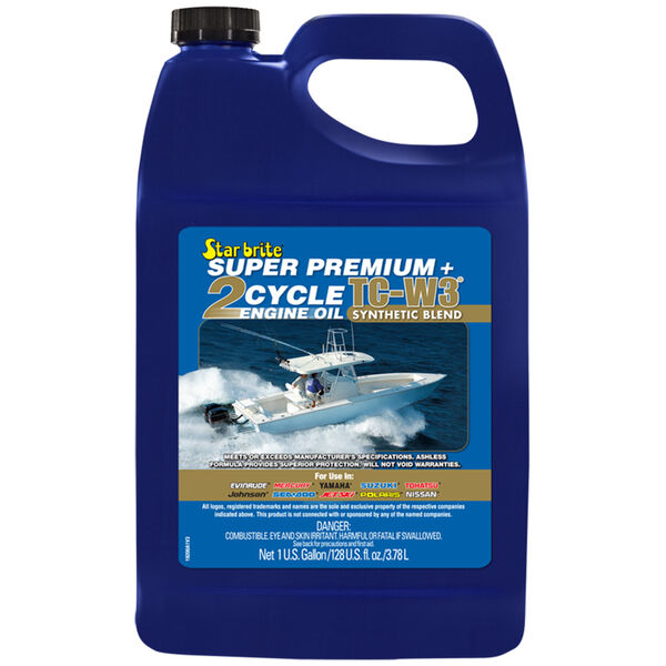 Star Brite Super Premium 2-Cycle TC-W3 Engine Oil, Gallon