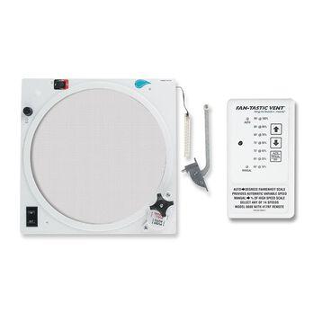 Fan-Tastic Fan Upgrade - Reverse Kit, Rain Sensor, Thermostat and Remote, on