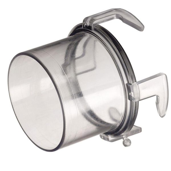 """Blueline Clear Hose Adapter, 2 1/4""""L"""
