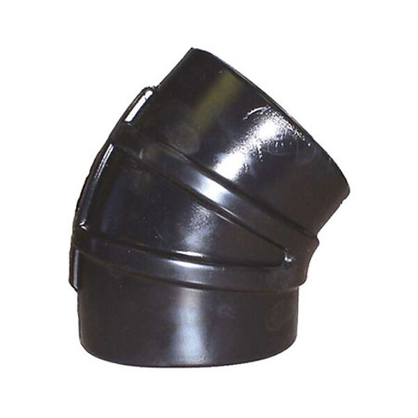"Sierra 45° Rubber Elbow, 4"" Dia., Sierra Part #116-245-4000"
