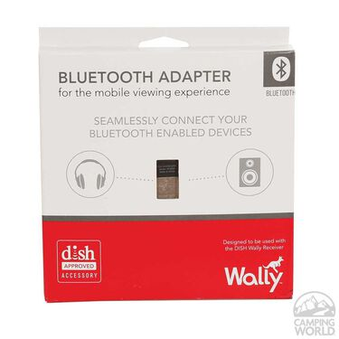 Wally Dish Receiver, Bluetooth Adapter